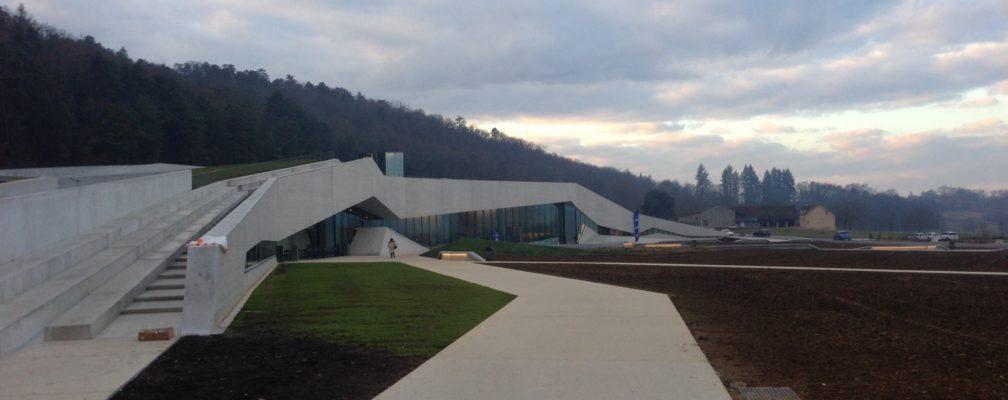 Ouverture du Centre International de l'Art Pariétal (Lascaux IV)