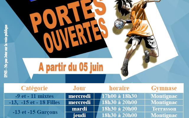 Portes ouvertes du Handball Club Vallée Vézère