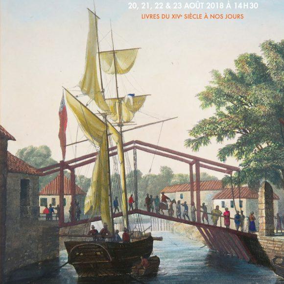 23ème vente aux enchères publiques – livres du XIVème siècle à nos jours