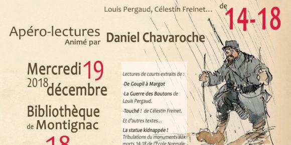 Apéro-lectures animé par Daniel Chavaroche