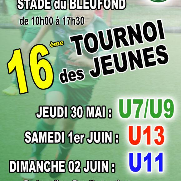 16e tournoi des jeunes