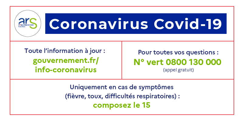 Point infos Covid – 19