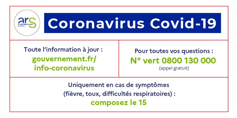 Point infos Coronavirus Covid – 19
