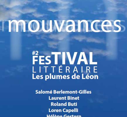 Festival littéraire les plumes de Léon – mouvances