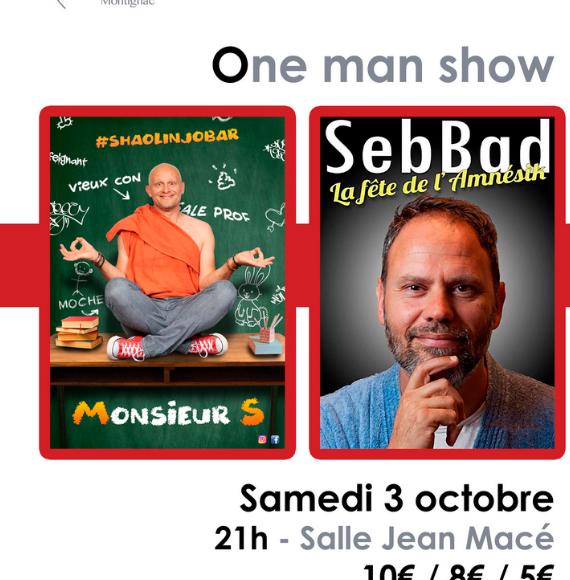 One man show » Monsieur S et la fête de l'amnésik»