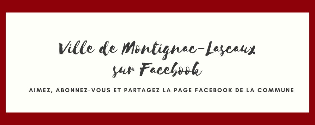Facebook ville de Montignac-Lascaux