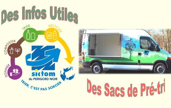 SICTOM – Campagne de distribution de sacs