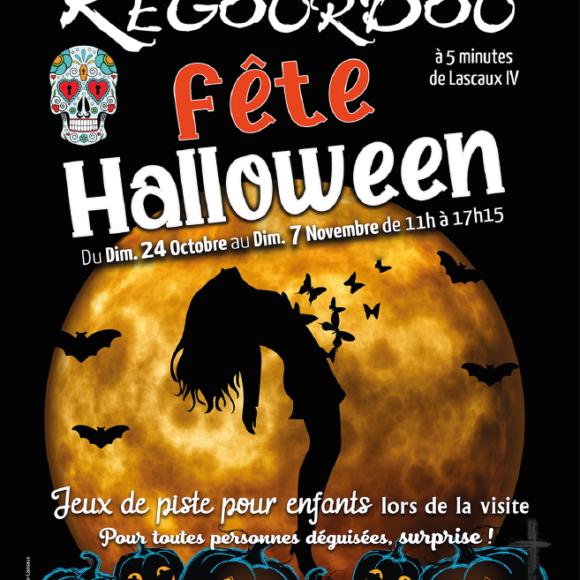 Le site du Regourdou fête halloween